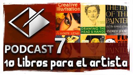 Podcast 7 - 10 Libros Para El Artista