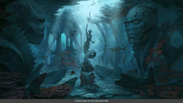 Underwater Temple Link