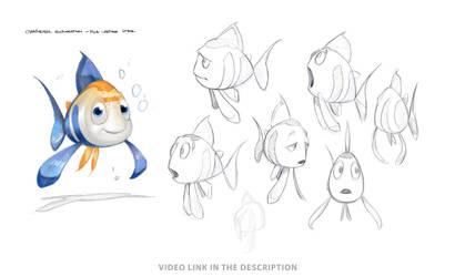 Character Fish Design Jesus Conde