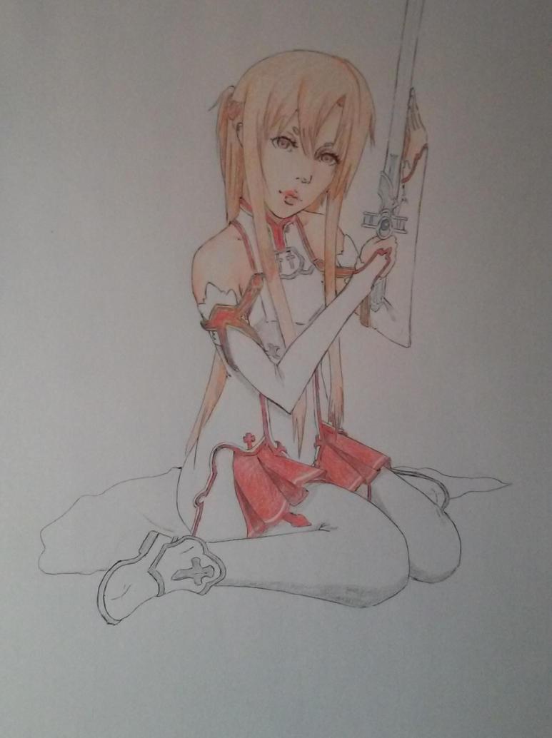 SAO fan art Asuna by Diko-chan