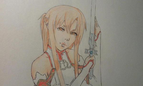 Asuna fanart by Diko-chan
