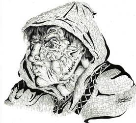 Frankenstein's Monster by Mintowolf