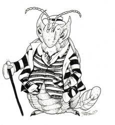 Boss trilobite by Mintowolf