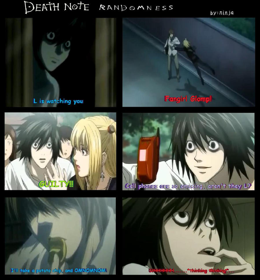 Death Note Randomness 1 by Rukia-Soul-Reaper246