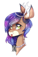Comm | Sweet Galaxy by dorkdolphin