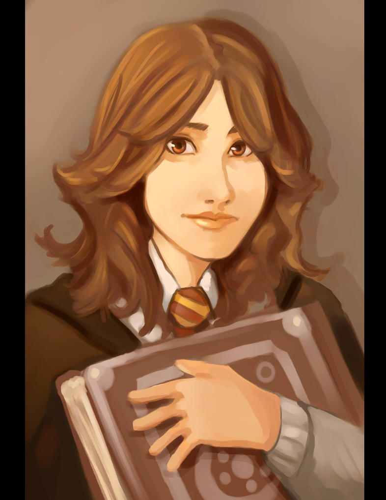 Hermione Granger Portrait by Cloud-07