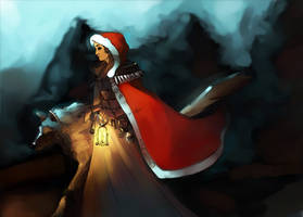Little red Riding hood colored by Cloud-07