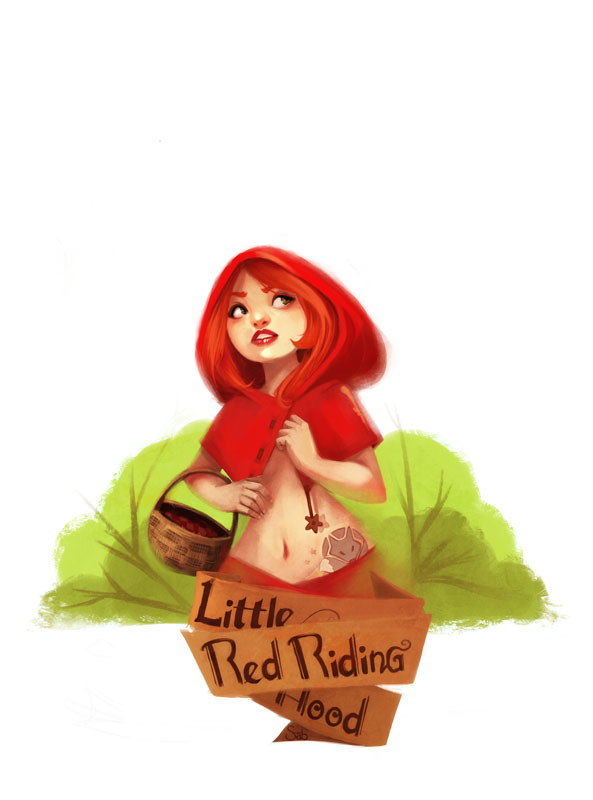 Little Red Riding Hood by sab-m