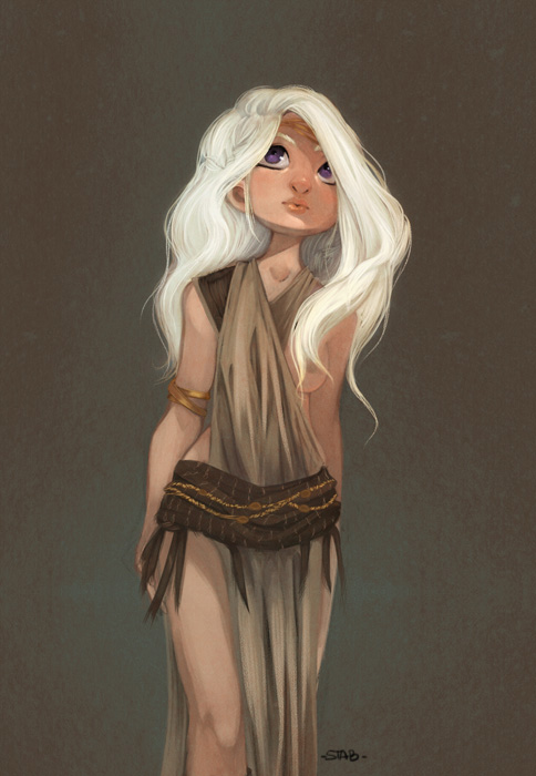 Mother of Dragons by sab-m