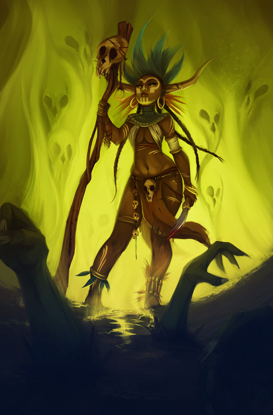 Witch Doctor By Sab M On Deviantart