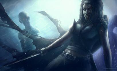 The walking dead: Michonne by Straban