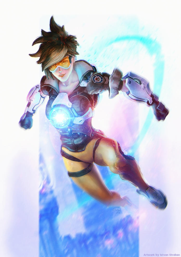 Overwatch  _ Tracer by Straban