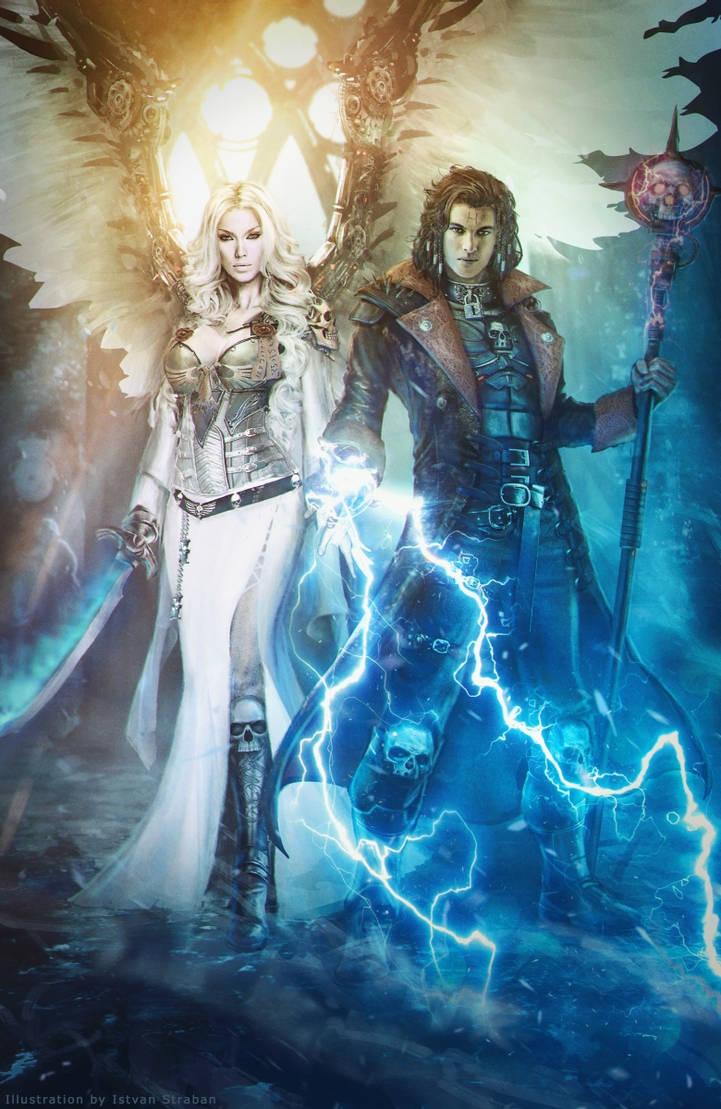 Zayel and Darius / Warhammer 40,000