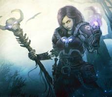 World of Warcraft _  Sorceress by Straban