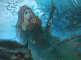 Little Red Riding Hood 2 by Straban