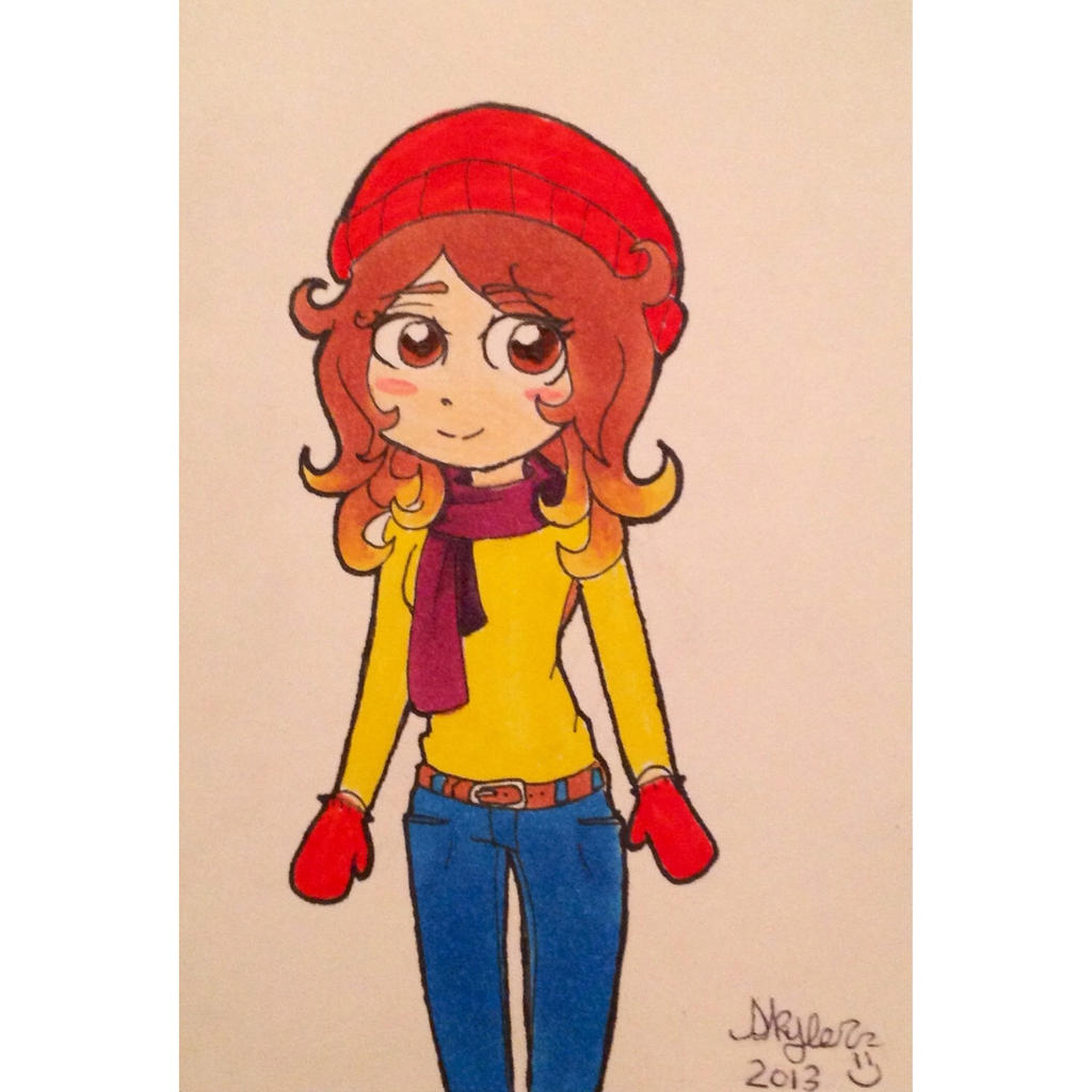 A drawing of me! by Meadowstar
