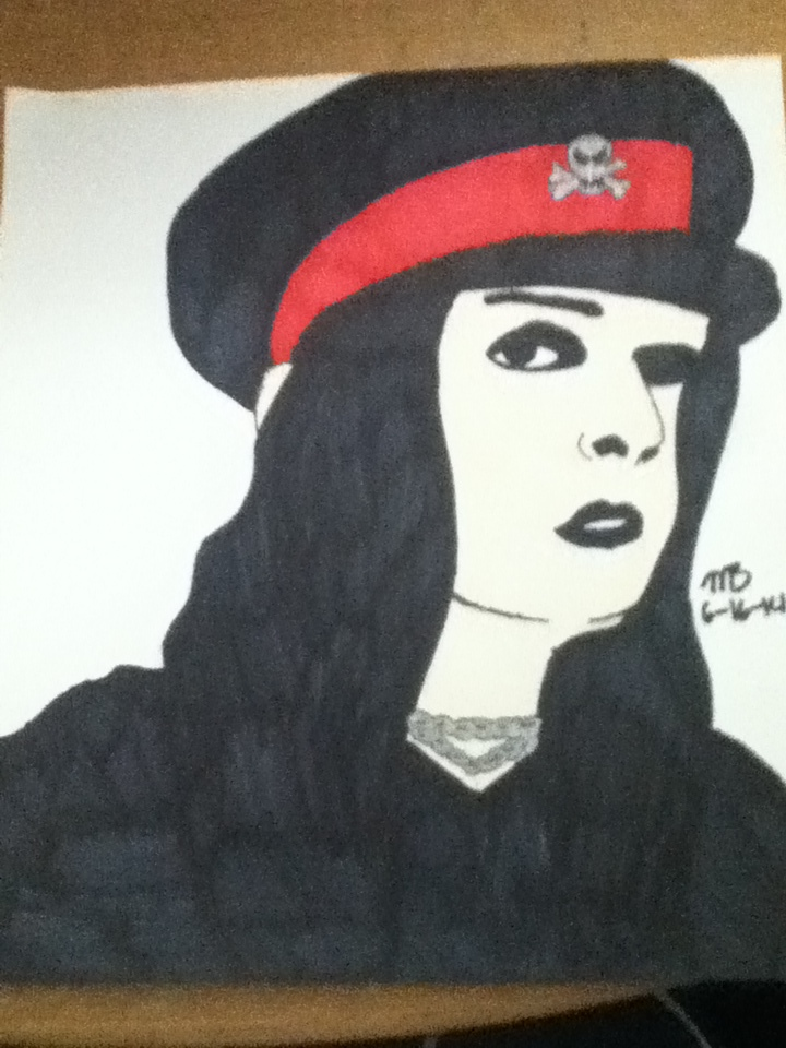 Joey Jordison Drawing (2014) by skullgirlify