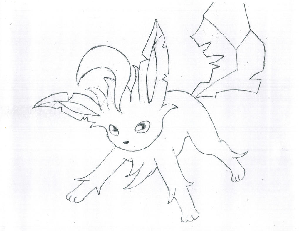 leafeon coloring pages - photo#34