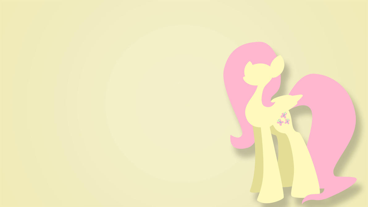 Fluttershy Wallpaper by LegoRJ35