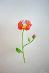 Thumbelina by artbyellie