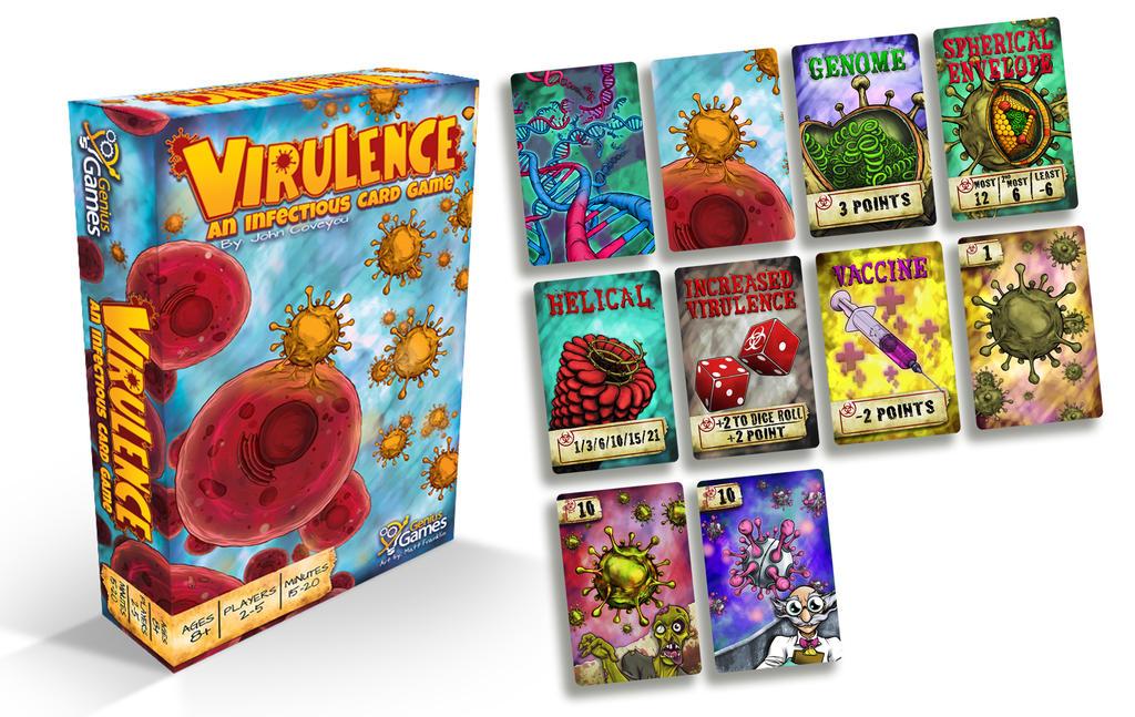 Genius Games: Virulence by MattFranklin