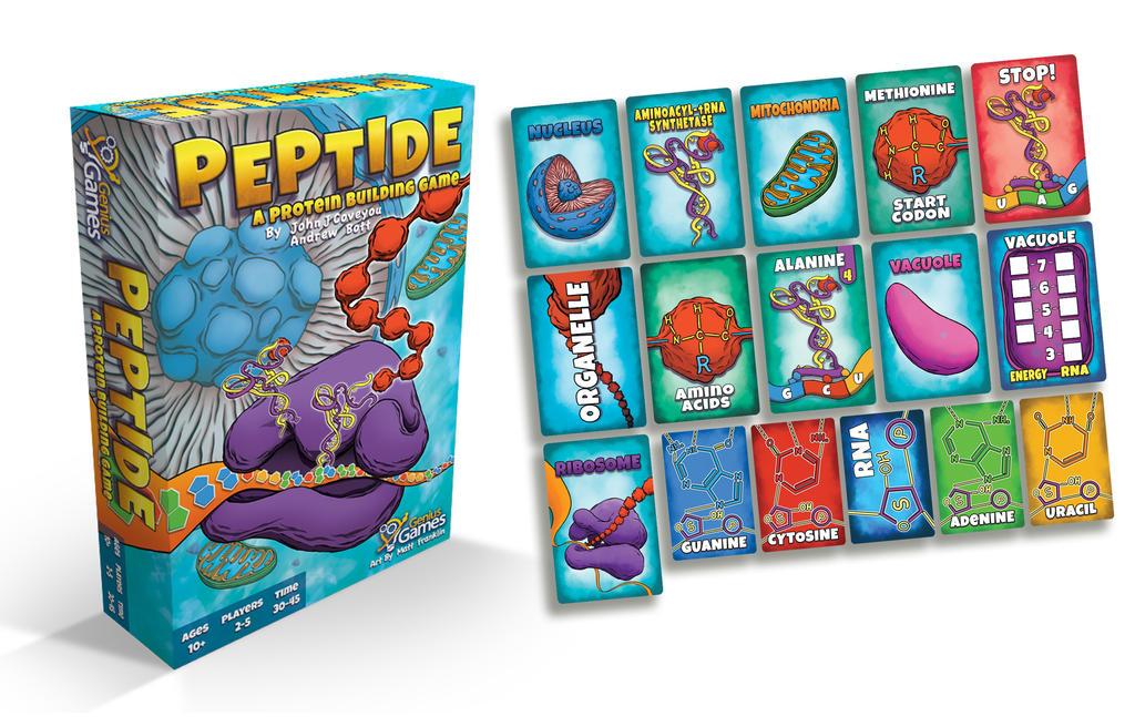 Genius Games: Peptide by MattFranklin