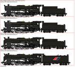 D12 Class Steam Locomotive