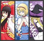 Touhou Project bookmark set