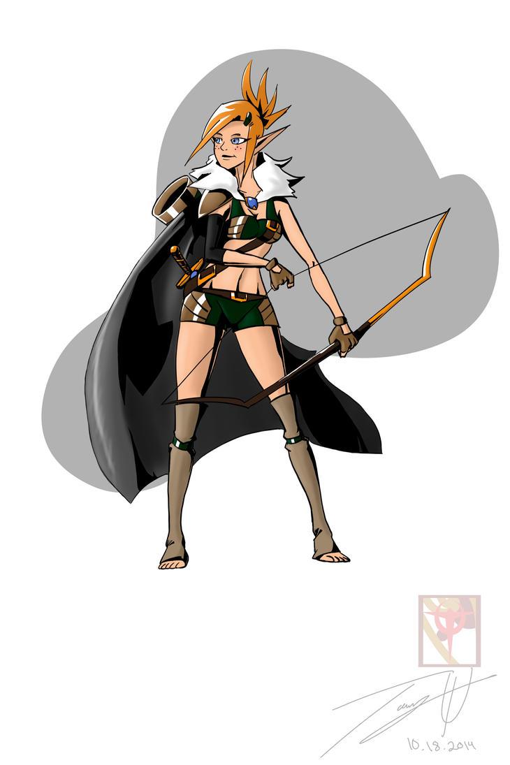 Warrior Archer by MonsterSix