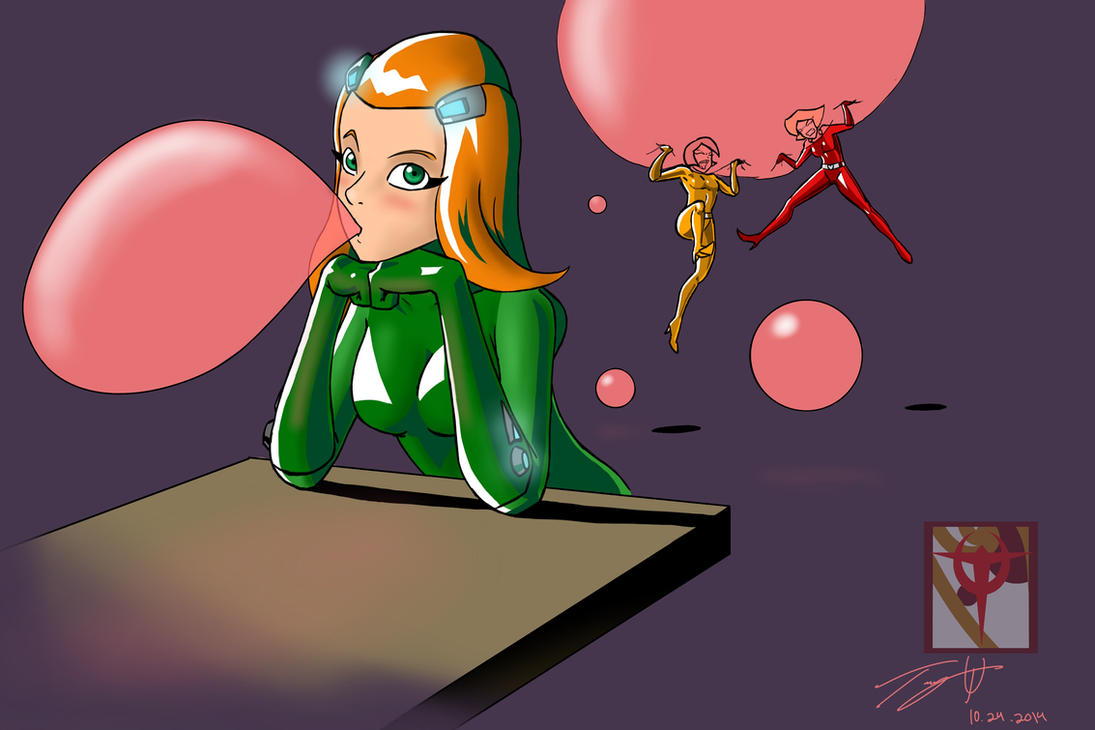 Totally Spies Bubbles by MonsterSix