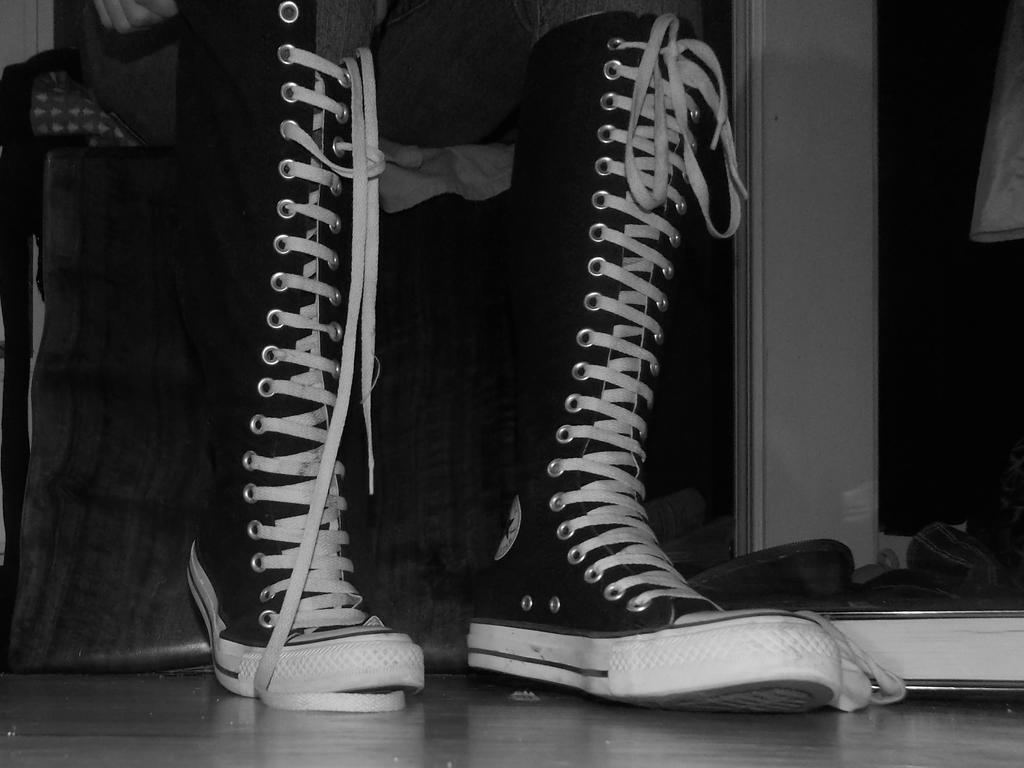 Knee High Converse Shoes At Journeys