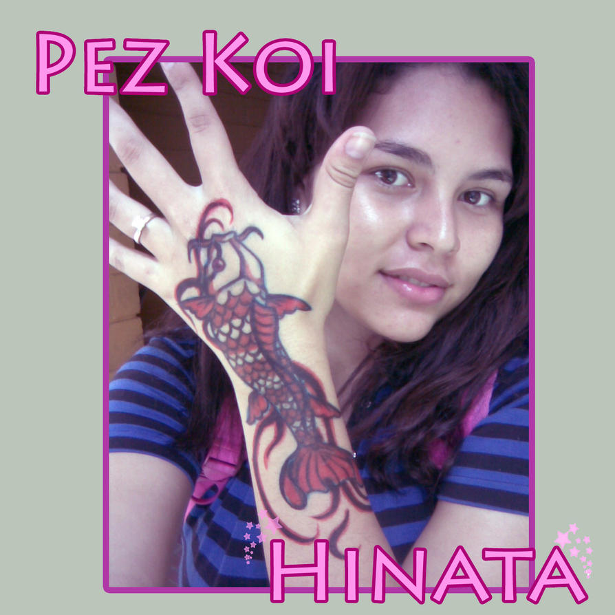 Pez koi by hinatakawai on deviantart for Pez koi pequeno