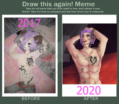 {OC} Then vs Now Meme
