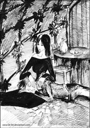 Anathema and Newt by Vera-Ist-44