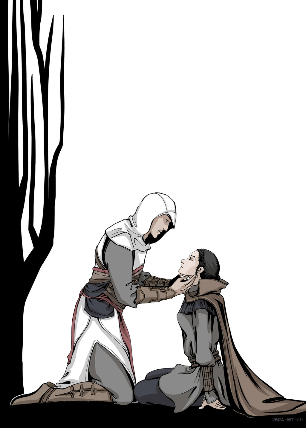 altair and maria relationship