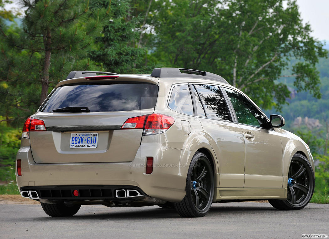 Subaru Outback 2 5i by Bertorelli22 on DeviantArt