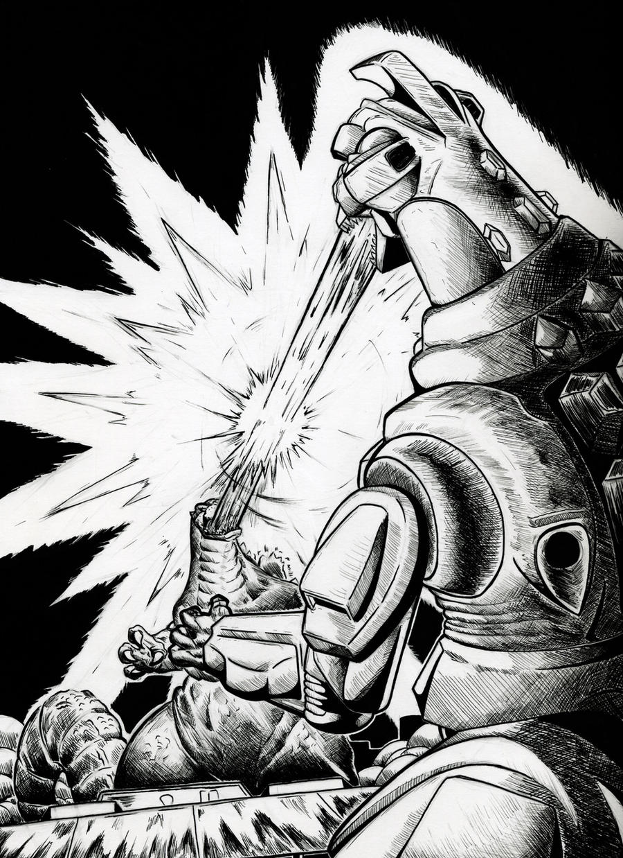 Godzilla vs Mechagodzilla 93 by gfan2332