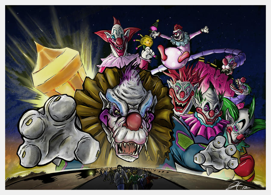 Killer klowns concept poster by gfan2332 on deviantart for Killer klowns 2