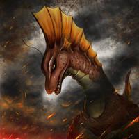 70s heros and villians Titanosaurus by gfan2332