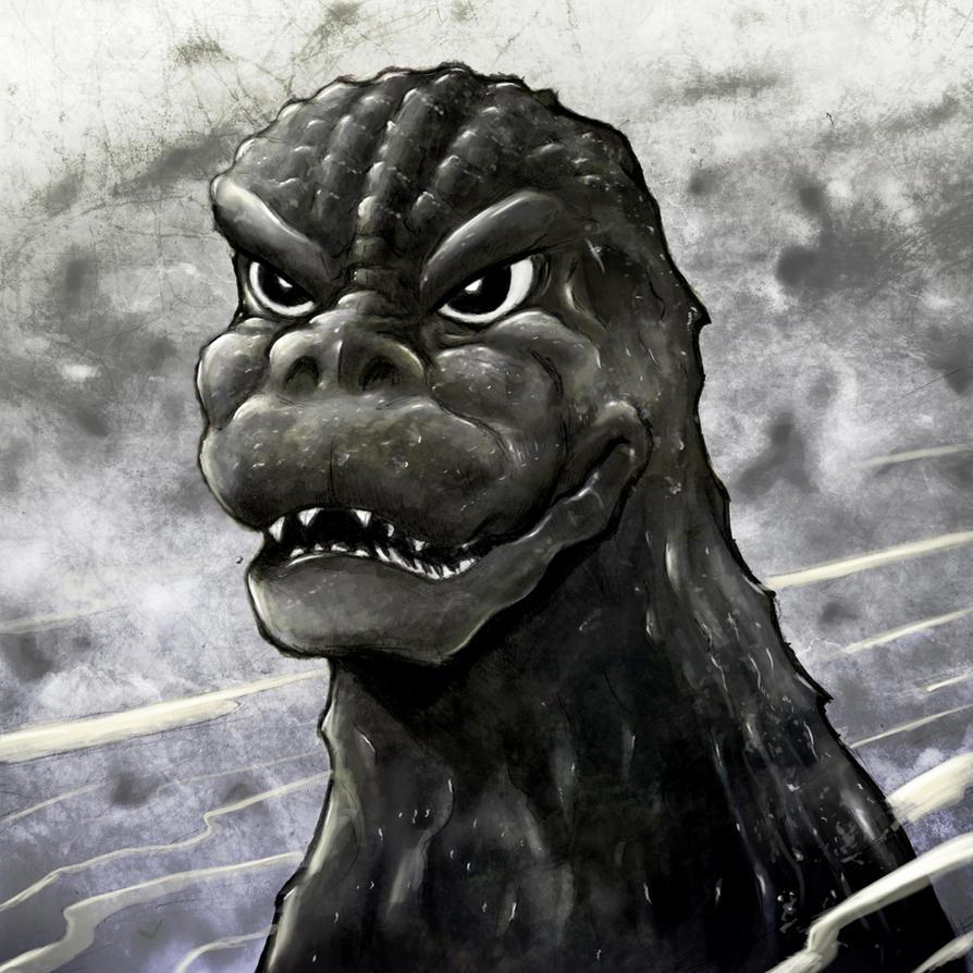 70s heros and villians Godzilla by gfan2332