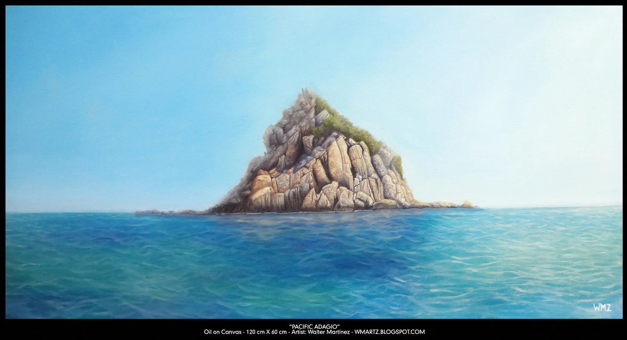 Pacific-Adagio WMARTZ oil on canvas 120x60 low by wmartz