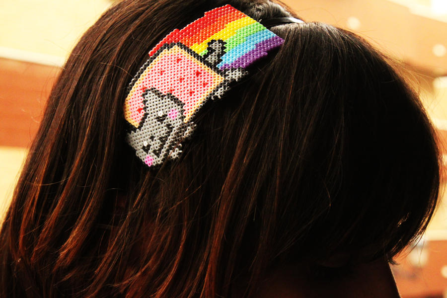 Nyan Cat Headband II by Nabila1790