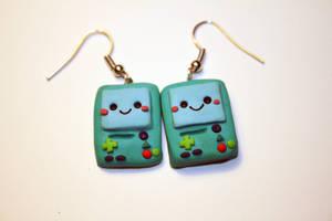 Beemo Earrings by Nabila1790