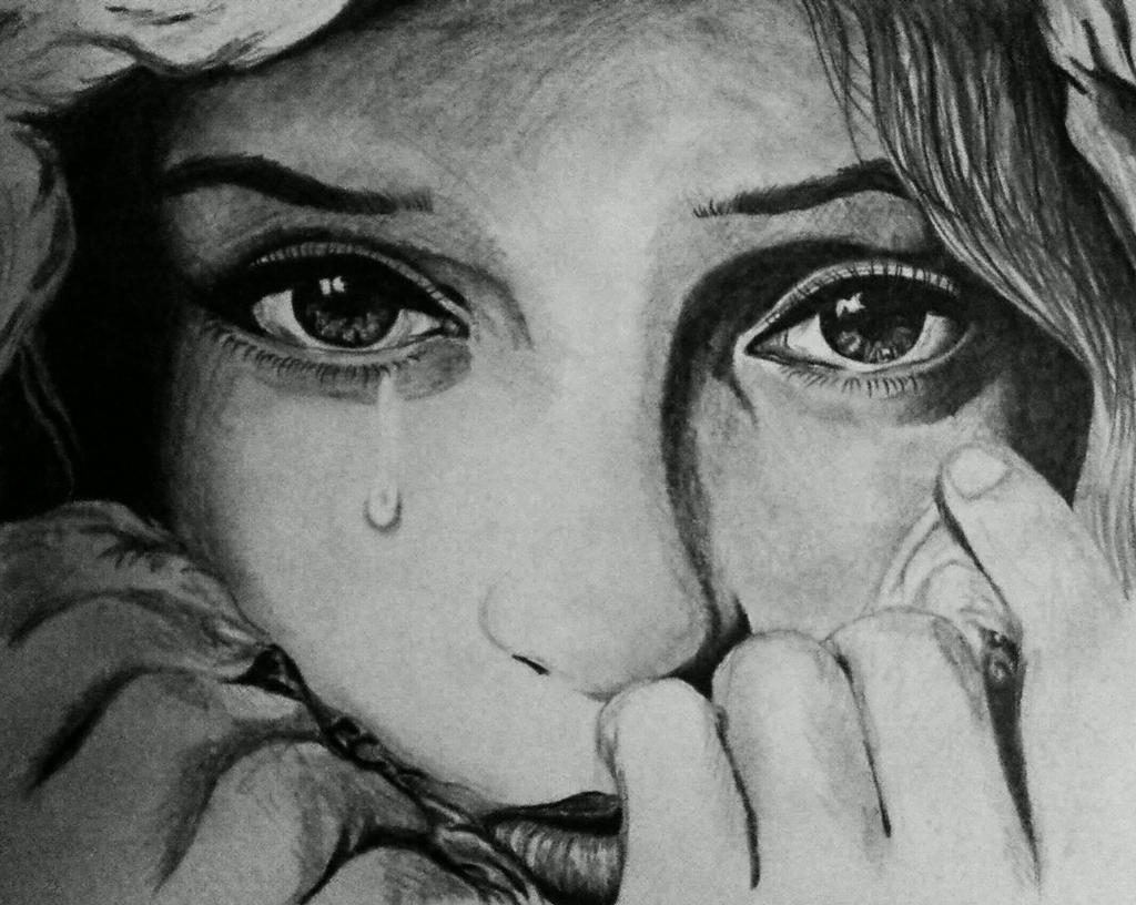 Crying face by Angeli7 on DeviantArt