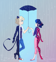 rainy love square by pinksilly