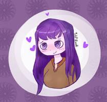Yuri - [DDLC] by Tulip-Honk