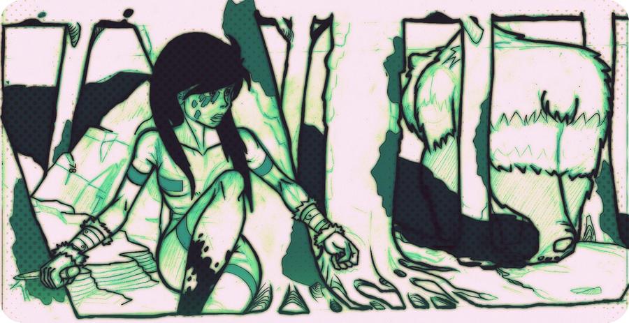 dream-on el sueño a la deriva - Página 4 Bear_hunter_by_4444gold-d53ybac