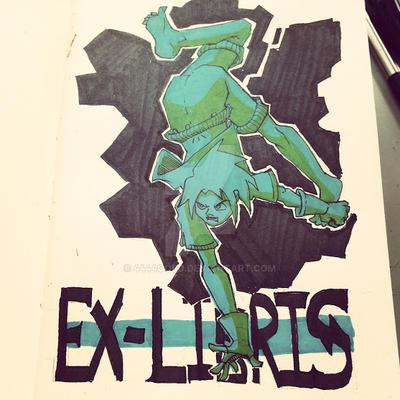 ex-libris by 4444gold