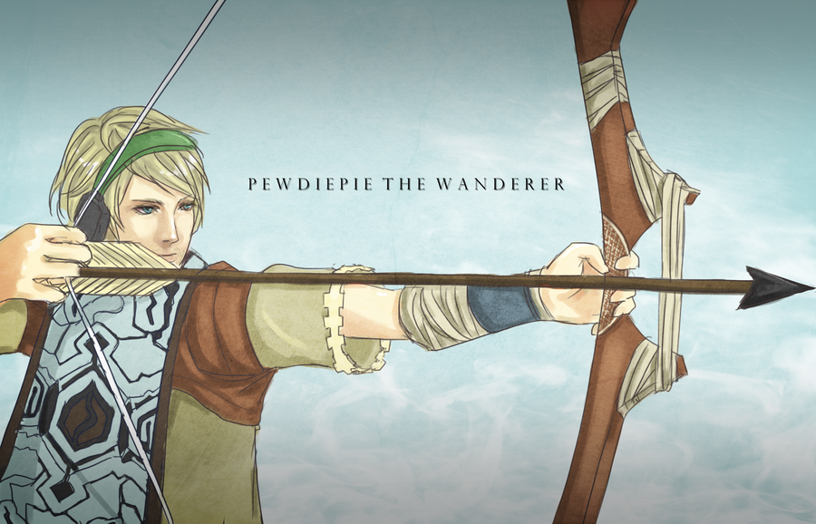 PewdiePie as Wander by Londei