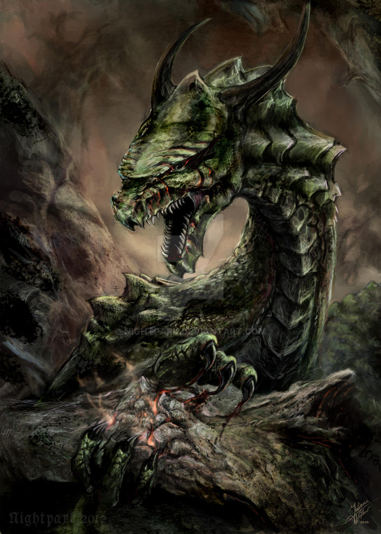 nidhogg dragon norse - 755×1057